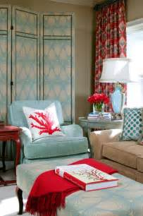 burgundy aqua coral room interior powder blue and poppy red rooms ideas and inspiration