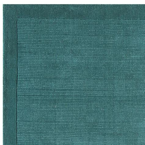 York Rugs by York Teal Rug Plain Teal Wool Rugs From Only 163 33