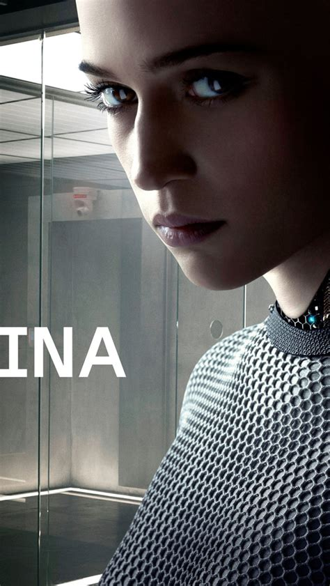 ex machina 2015 ex machina 2015 movie wallpaper free iphone wallpapers