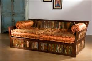 monsooncraft indian carved sofa settee designs