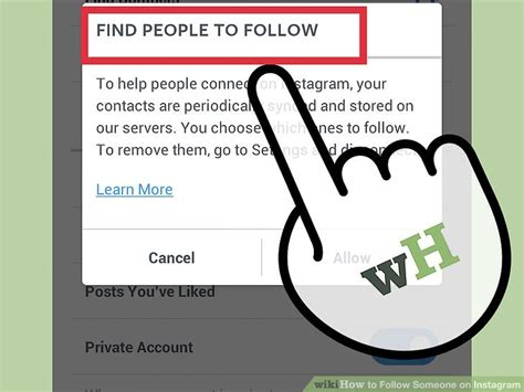 How To Find On Instagram How To Follow Someone On Instagram 9 Steps With Pictures
