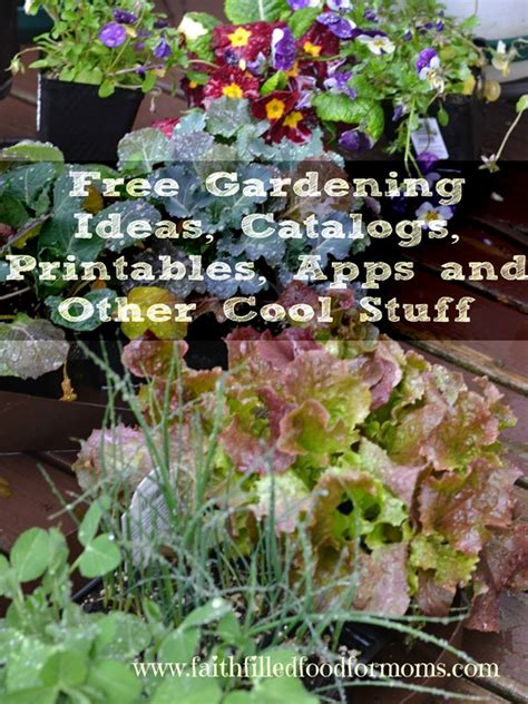 Gardening Catalog by Free Gardening Ideas Catalogs Printables Apps And Other