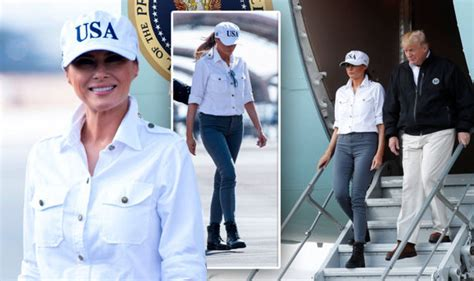 melania trump donald wife channels husbands style