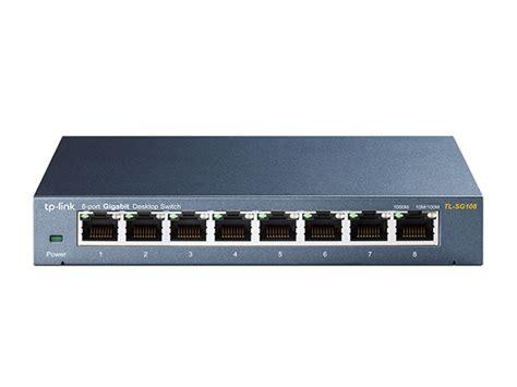 Tplink Tl Sg108 8 Port 10 100 1000mbps Desktop Switch tl sg108 8 port 10 100 1000mbps desktop switch tp link australia