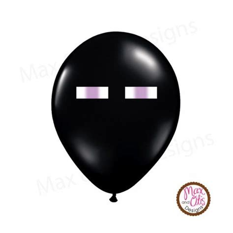 printable eye stickers minecraft enderman eye stickers for balloons or goody bags