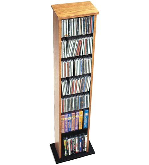 Multimedia Shelf by Slim Multimedia Storage Tower In Media Storage Towers