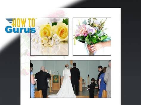 tutorial photoshop cs5 wedding related video