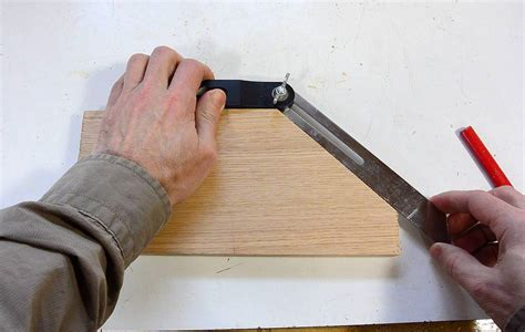 how to measure angles for woodworking a wooden bevel gaugue