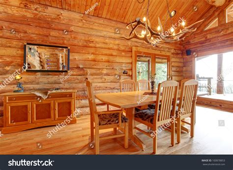 log cabin dining room furniture log cabin dining room interior with custom furniture