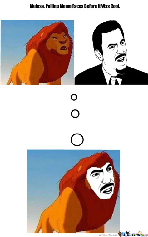 The Face Meme - mufasa meme face by liamotee11 meme center
