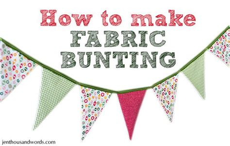 Tutorial On How To Make Holiday Fabric Bunting For The Mantle Organized Holidays Pinterest Merry Bunting Template