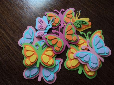 imagenes mariposas goma eva manualidades de goma eva mariposas imagui