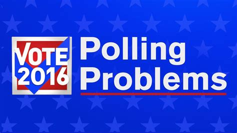 Election Day Woes by Election Day 2016 Tell Us About Problems At Polls Or