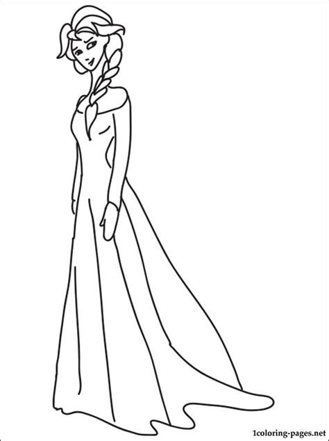 coloring pages princess elsa princess elsa coloring page coloring pages