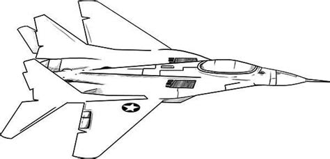 f18 jet fighter coloring page download print online