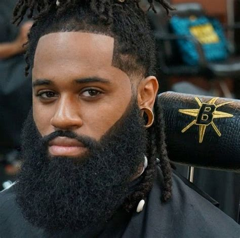 african american beard growth black men haircuts 40 best black men long hairstyles