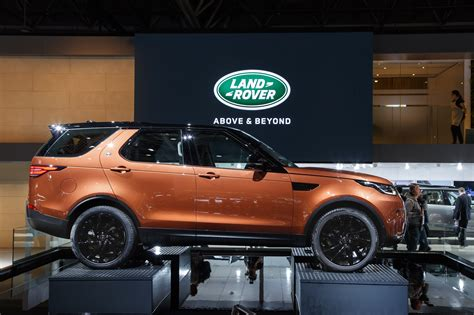 jaguar land rover at the 2016 motor show thetoptier