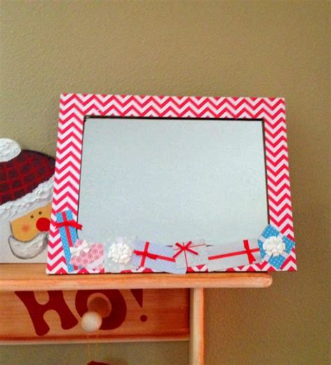 Mirror Craft Paper - tutorial easy scrapbook paper frame mirror 187 dollar store