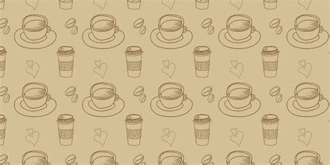 Actual Free Background Check 18 Coffee Background Patterns Photoshop Free Brushes