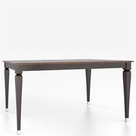 canadel dining table canadel tsq4848il 1 custom dining classic contemporary transitional square table with legs