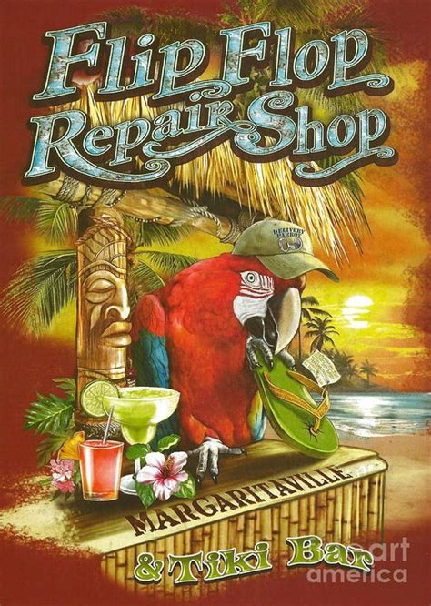 Jimmy Buffet Store Repair Shop Flip Flops And Jimmy Buffett On Pinterest