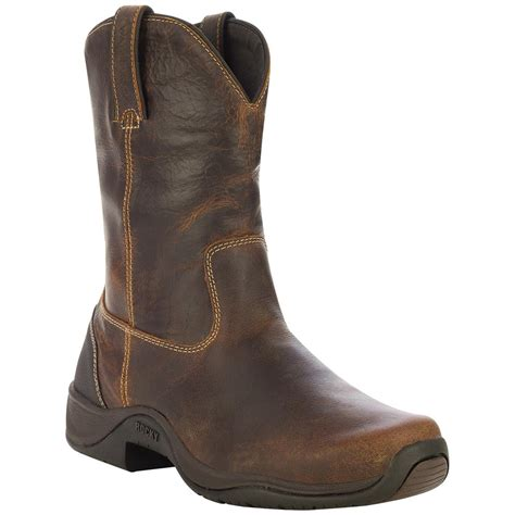 pull on work boots s rocky 174 barnstormer 9 quot waterproof pull on work