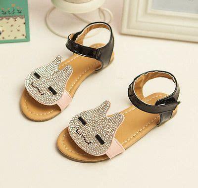 Sandal Hermes Flatshoes New Korean Summer Shoes Rhinestone Rabbit Bright