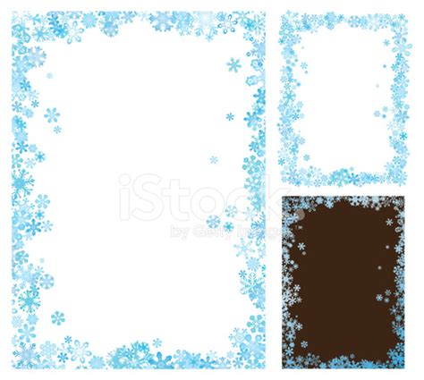 Flowers Home Decoration by Winter Frame Stock Vector Freeimages Com