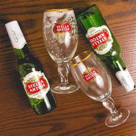 Stela Set by Stella Artois Chalice Glass 11 Oz Set Of 2