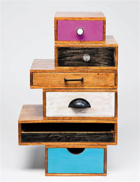 Upcycle Drawers by Upcycled Drawer Tower By I Retro Notonthehighstreet