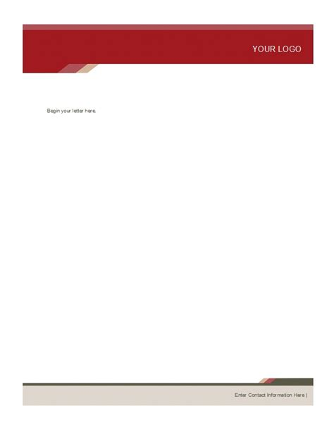 letterhead format with logo docoments ojazlink
