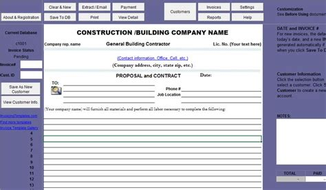 Printable Sle Construction Proposal Template Form Real Estate Forms Pinterest Proposal Rfp Template Commercial Real Estate