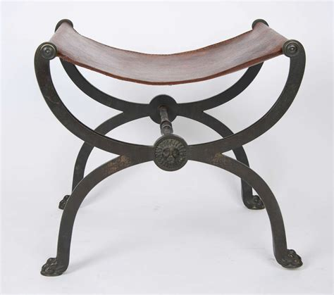 Stool After by Bronze X Frame Stool After The Antique At 1stdibs