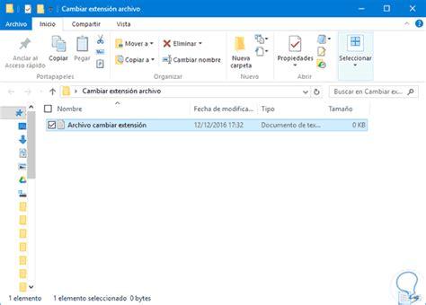 ubicacion imagenes windows 10 c 243 mo cambiar extensi 243 n de archivo en windows 10 solvetic