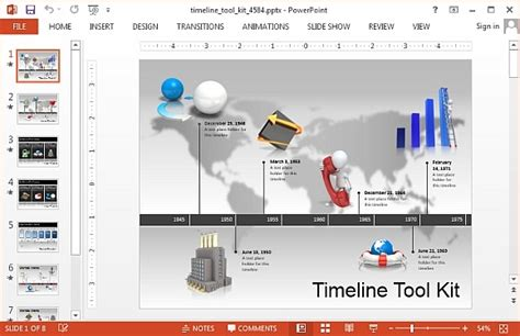Animated Timeline Maker Templates For Powerpoint Animated Timeline Powerpoint Template