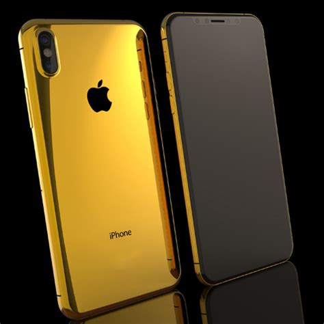 iphone x 24k gold carter lux