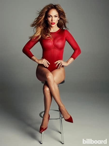 2014 new look for j lo jennifer lopez is red hot on the cover of billboard