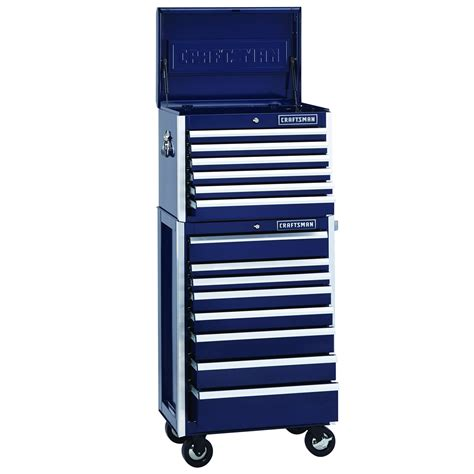 craftsman 8 drawer tool chest combo 8 dwr premium heavy duty rolling cabinet tool storage