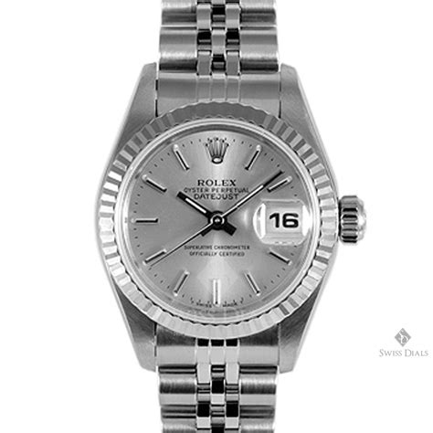 Stainless Steel Silver rolex datejust stainless steel silver stick