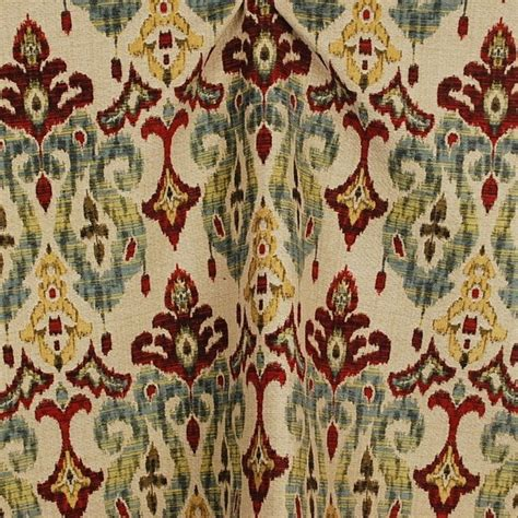Ikat Upholstery Fabric By The Yard by Sandoa Ikat Heavy Upholstery Fabric By The Yard