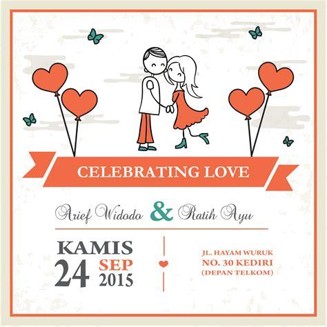 Kartu Ucapan Pernikahan Bentuk undangan desain unik undangan pernikahan bentuk kalender