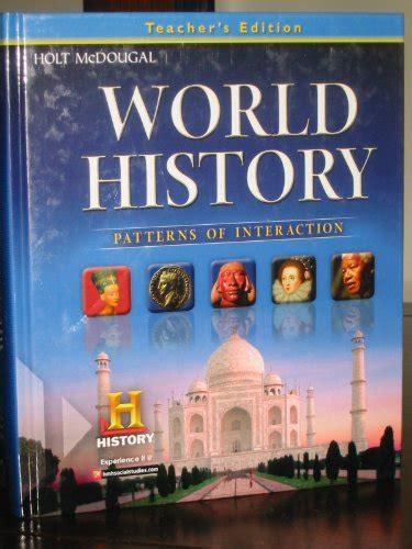 world history pattern of world history patterns of interaction teacher edition