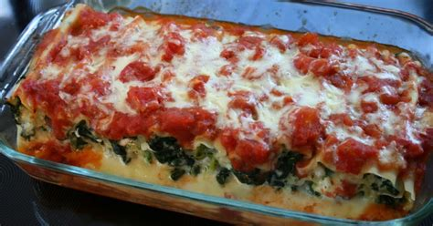 Spinach And Cottage Cheese by Spinach And Cottage Cheese Cannelloni