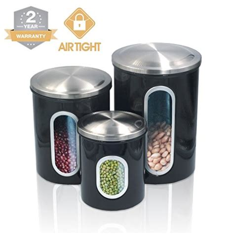 food canisters kitchen 2018 food storage containers canister set for ideahome stainless steel organization canisters set