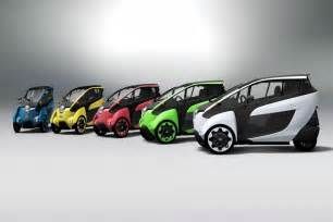 Electric Road Vehicles Uk Toyota 3 Wheeled Car With I Road Concept 2017 2018