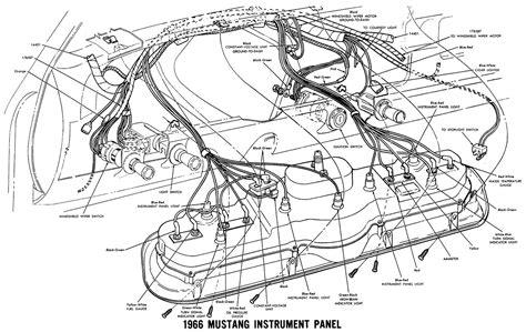 transmission control 1964 ford mustang instrument cluster 1966 mustang wiring diagrams average joe restoration