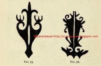 tato dayak wanita pakat dayak gambar motif motif tato dayak bagian iii