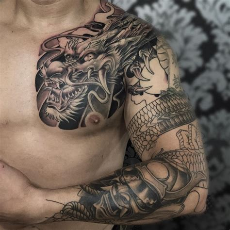 arm and chest tattoo 18 arm sleeve tattoos designs ideas design trends