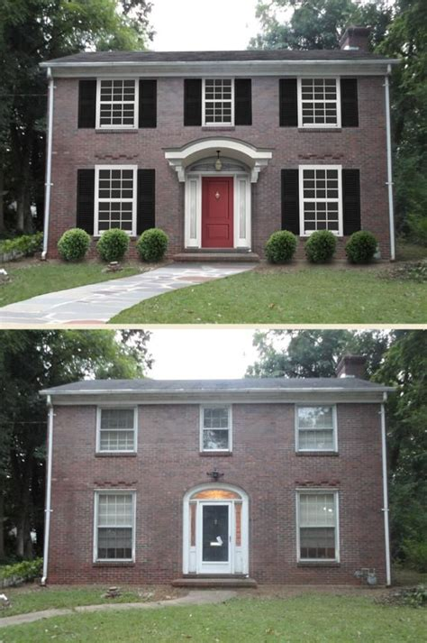 before and after home before and after exterior home makeovers joy studio