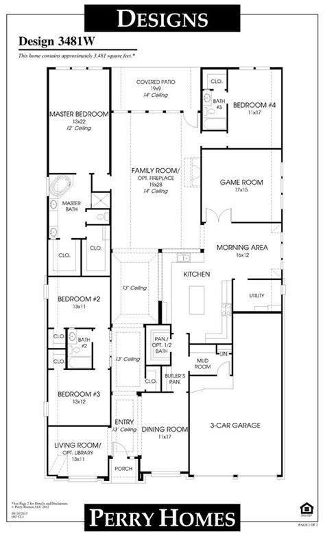 blueprints for new homes beautiful perry homes floor plans new home plans design